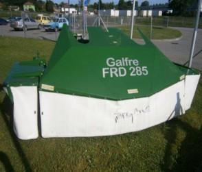 čelně nesený žací stroj GALFRE FRD 285